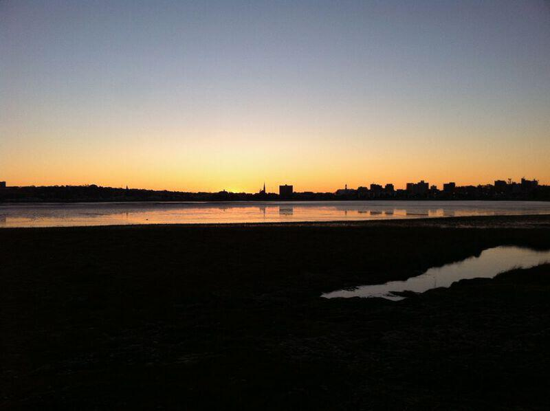 Portland, Maine at Sunrise